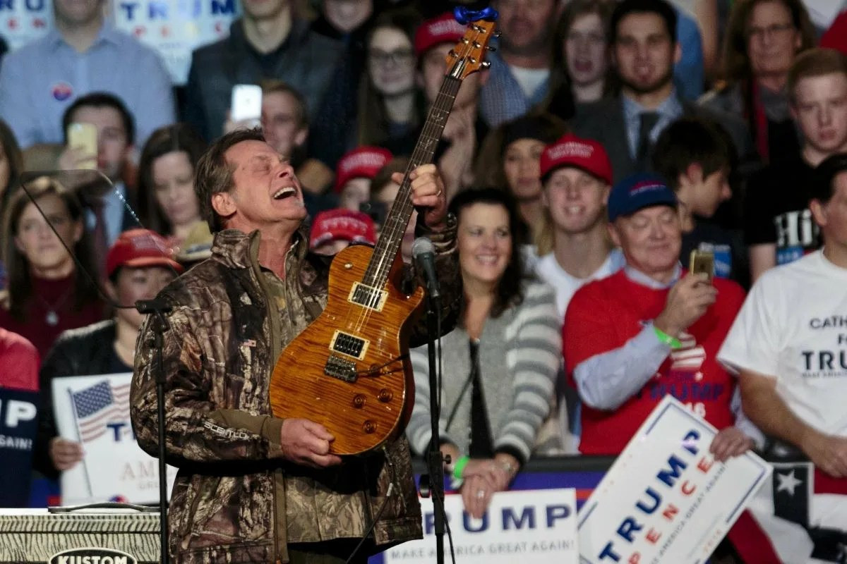 Ted Nugent Parkland Teens Attacking The Nra Have No Soul