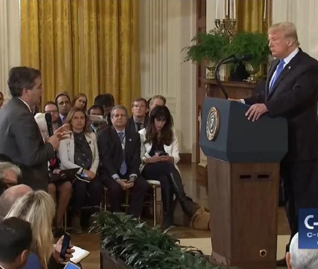 White House Press Secretary Blasted For Sharing Infowars Video To Bar Reporter