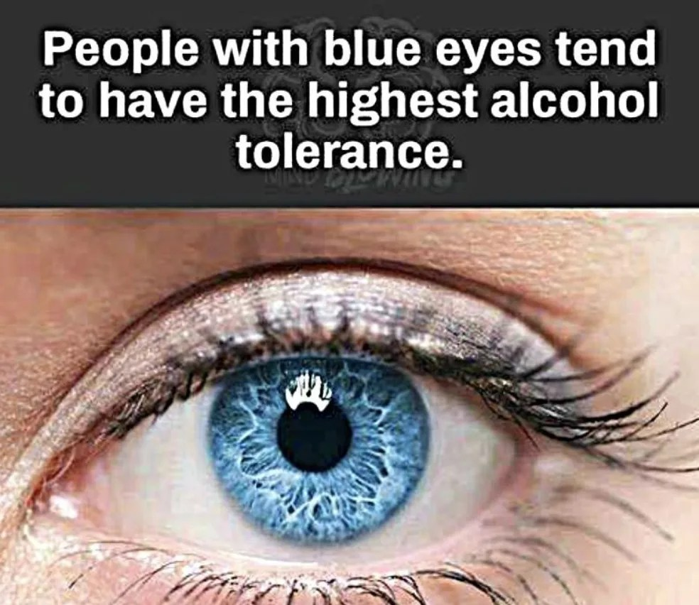 do people with blue