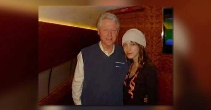 Is This a Young Woman with President Bill Clinton on Jeffrey ...