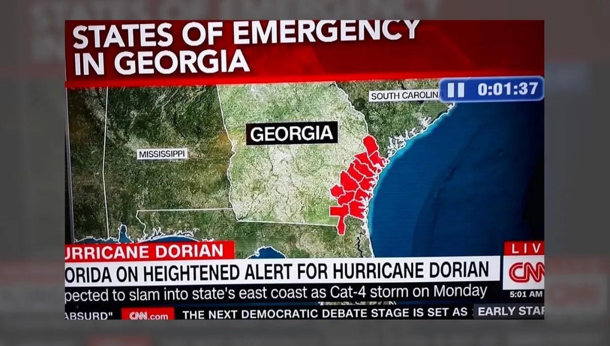 Did CNN Mislabel Alabama as Mississippi on Hurricane Dorian ...