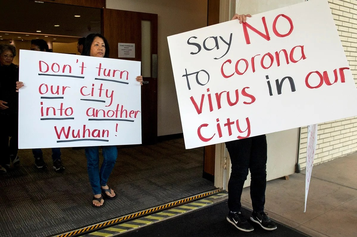 Judge Halts Plan to Move Virus Patients to California City