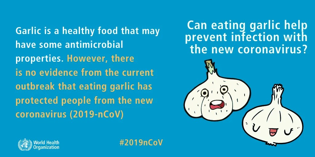 Will Garlic Water Cure Coronavirus?