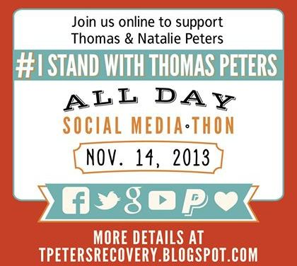 Will You Join Me? #IStandWithThomasPeters