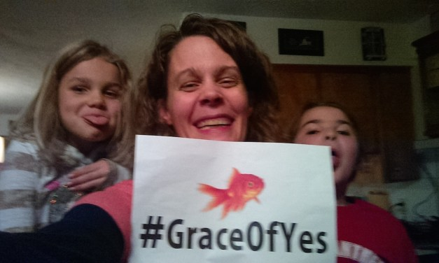 "What ""Yes"" Means to Me #GraceofYesDay"