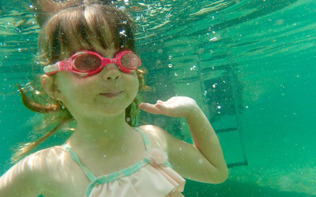 Snorkelling fun with the kids