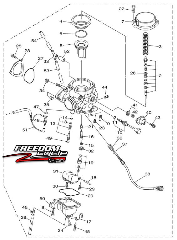 2008-2013 YAMAHA GRIZZLY 250 ATV CARBURETOR CARB 4D3-14901