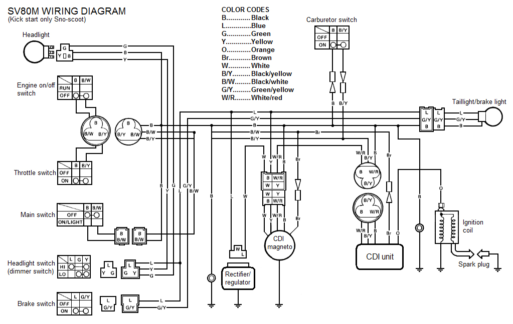 Xs650 Kickstart Wiring Diagram Only Xj550 Wiring Diagram