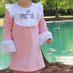 Pink Bib Dress