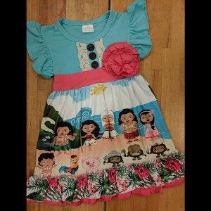Aqua Moana Dress