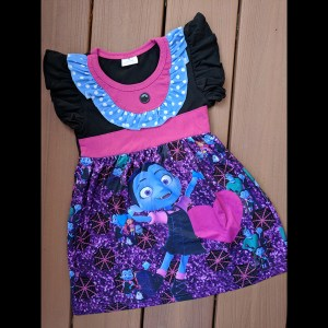 Vampirina Purple Halloween Dress