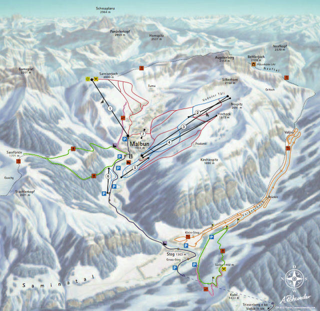 office chair guide canoe review malbun ski resort guide, location map & holiday accommodation