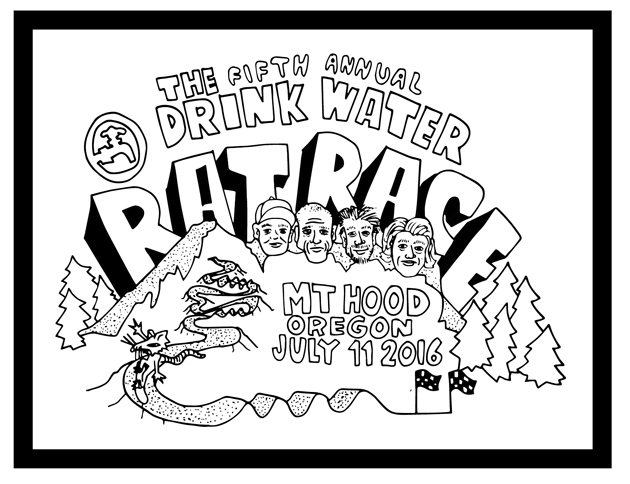 Fifth Annual Drink Water Rat comes to Mt. Hood July 11