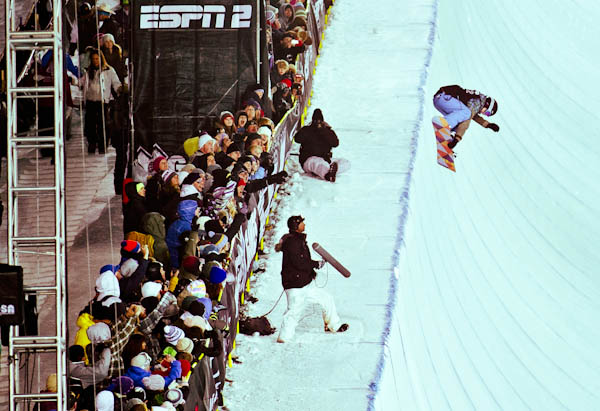 Kelly Clark Lands First 1080 at Winter X Games 15 Womens Superpipe