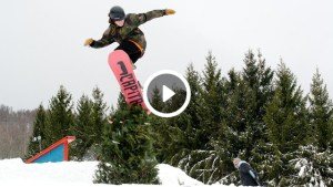 Nightmare Before Christmas snowboarding event with Johnny O'Connor