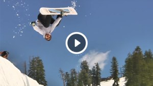 Borealization, Woodward Tahoe, Forest Bailey, Summer Snowboarding