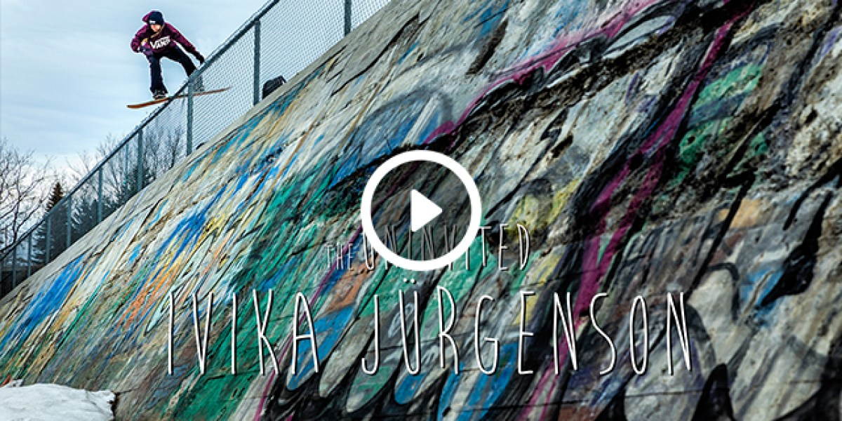The Uninvited: Ivika Jurgenson Full Part | Snowboarder Magazine
