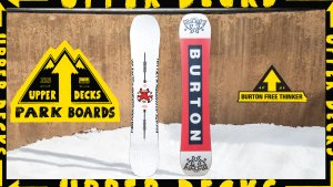 2020 Upper Decks Park Boards: Burton Free Thinker