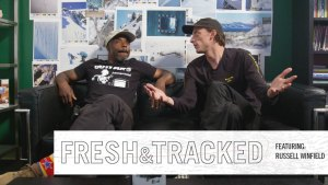 Fresh & Tracked: Russell Winfield on Skier Beef, Instagram Snowboarders and More