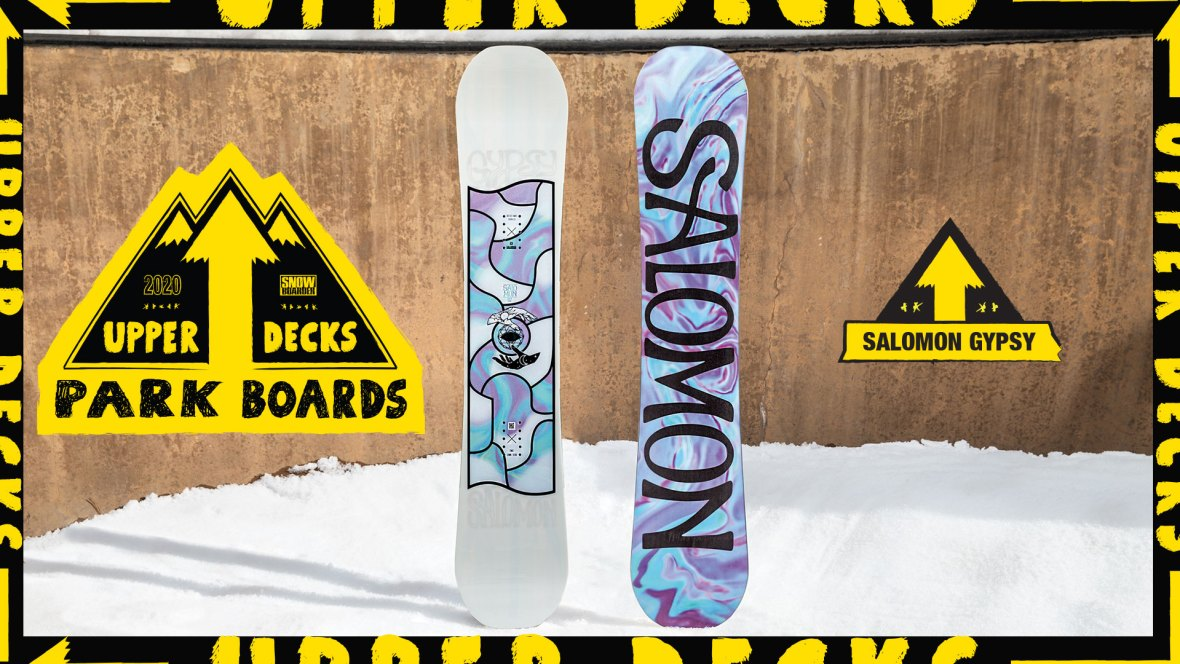 2020 Upper Decks Park Boards: Salomon Gypsy | Snowboarder