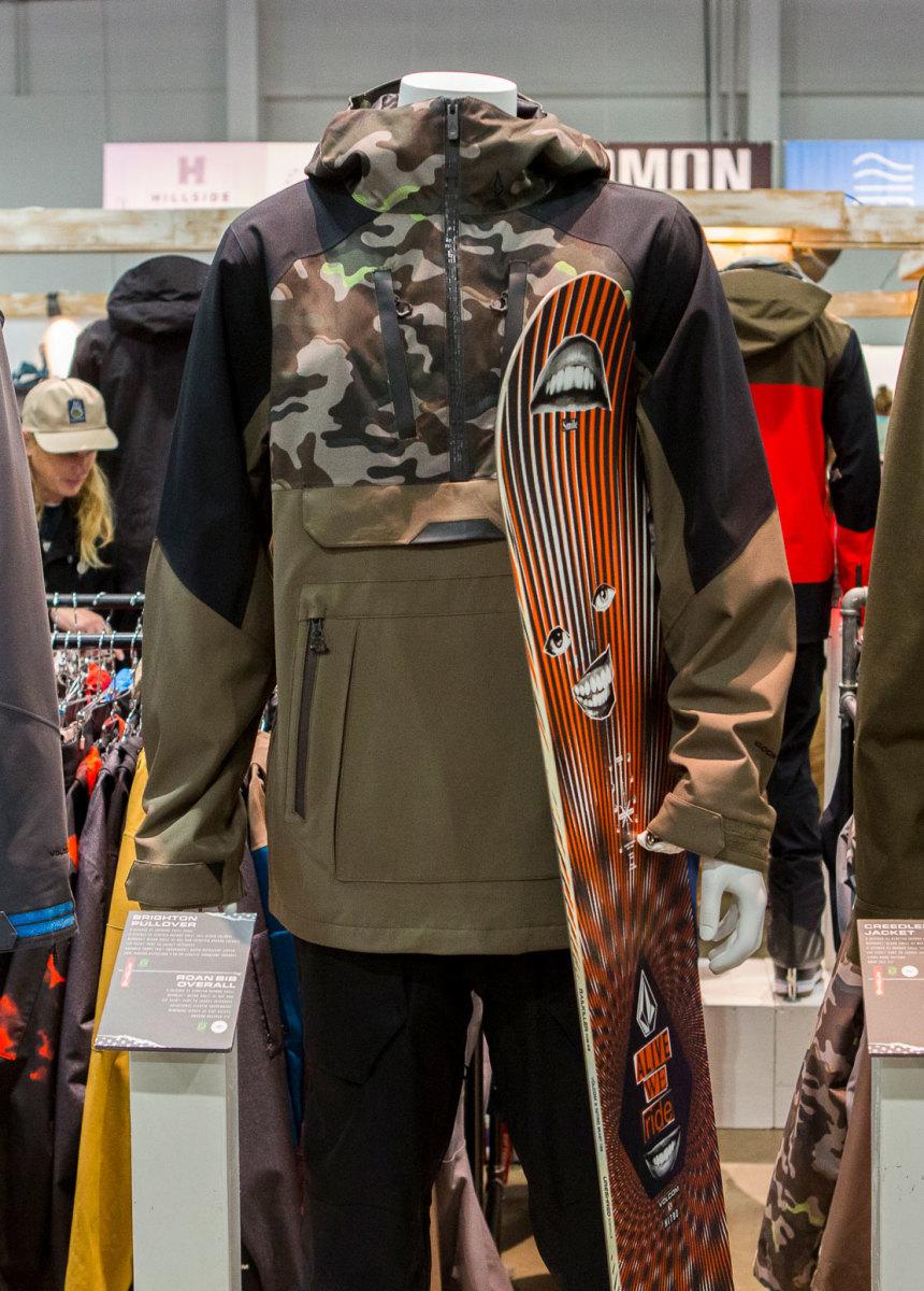 Markus Kleveland Volcom Brighton Pullover Jacket