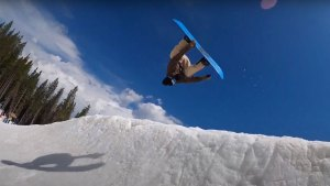 Academy Snowboards at Woodward Copper summer snowboarding