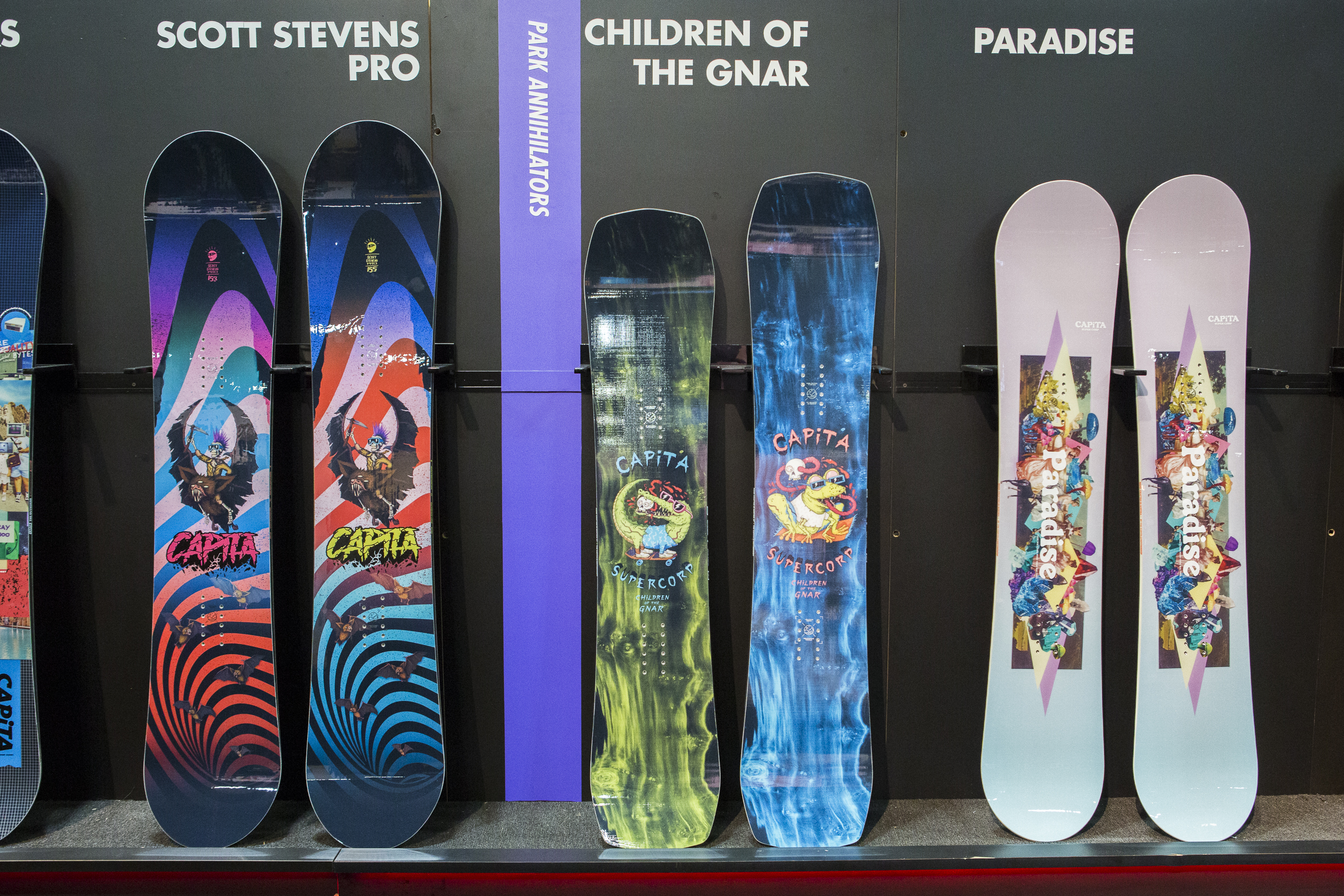 Capita Snowboards Gear preview