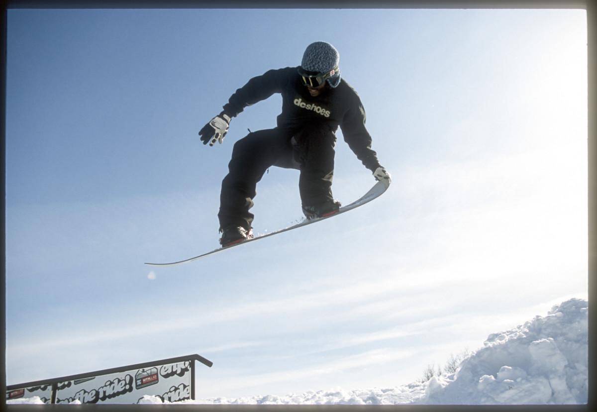 Sal Masekela snowboarding photo by Nate Christensen