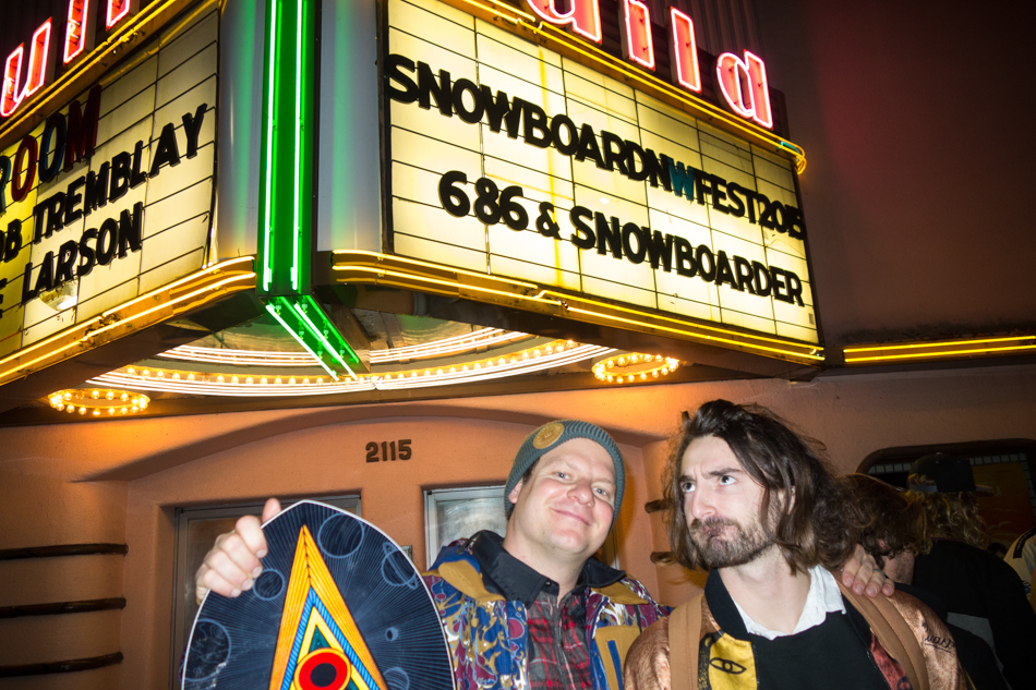 The SNOWBOARDER Movie, SFD, Patrick mccarthy, forest bailey