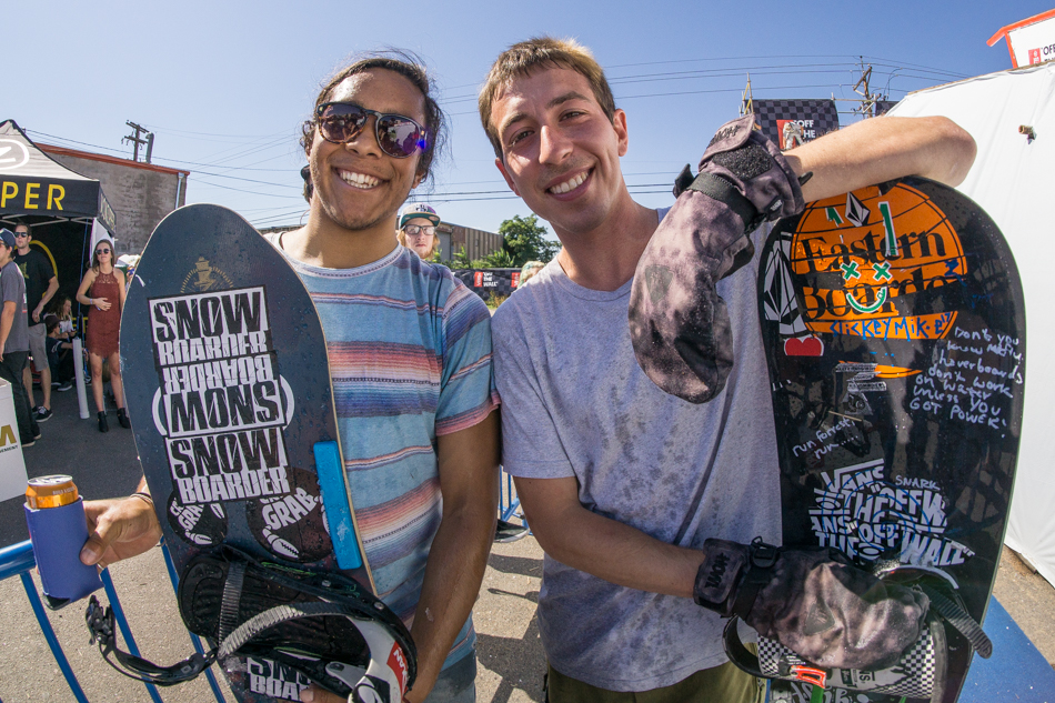 Erik Leon, Mike Ravelson, Mike Rav, Snowboard on the Block 2015