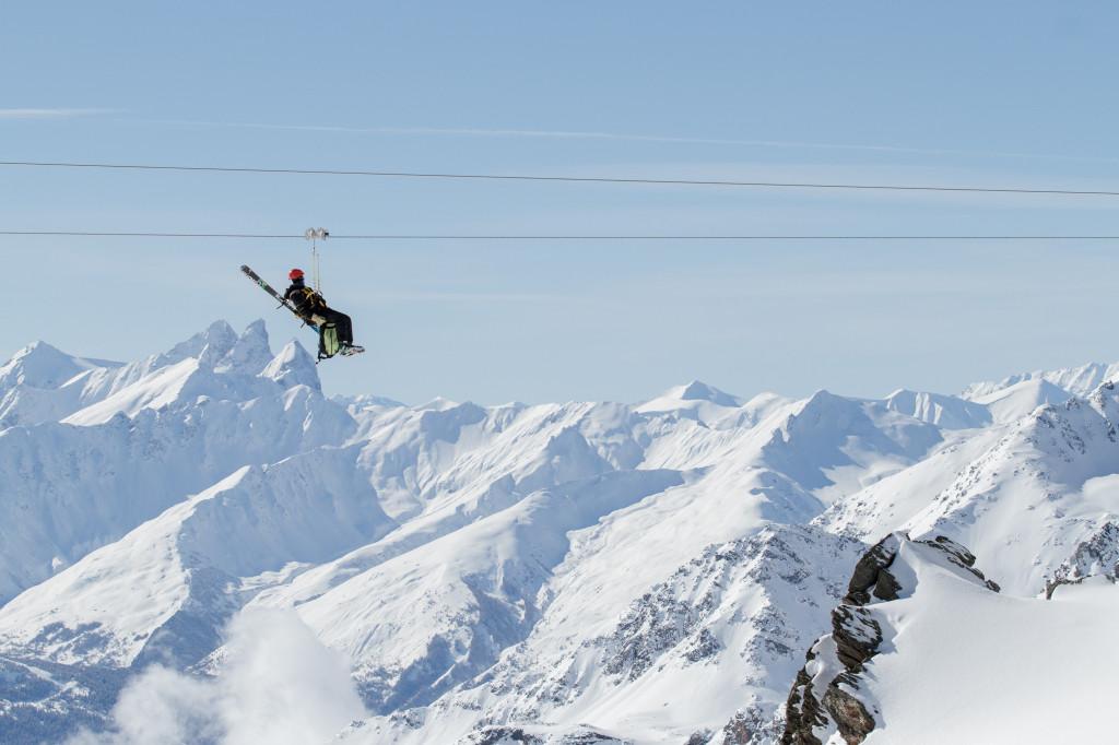 La Tyrolienne De meest badass kabelbaan van Val Thorens