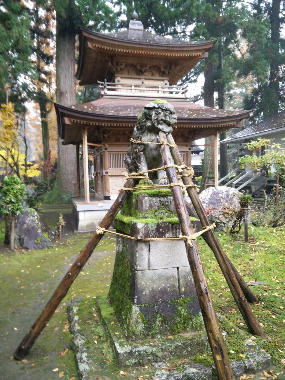 Enpuki-ji in Koide