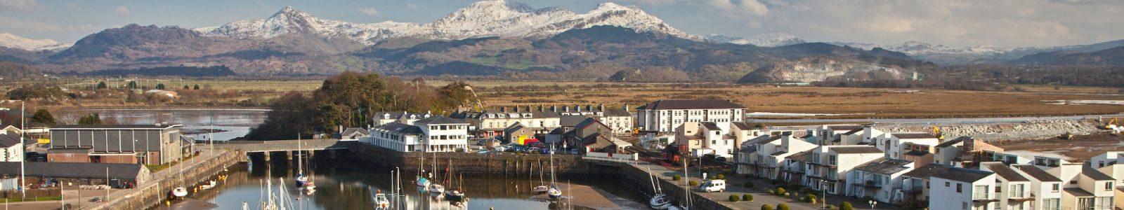 Porthmadog harbour - Snowdonia Caravan Park Llwyn Bugeilydd