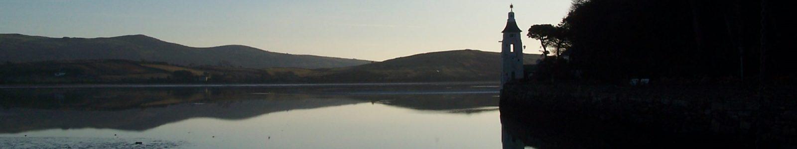 Portmeirion at twilight - Snowdonia Caravan Park Llwyn Bugeilydd