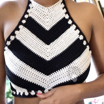 Snowflake Crochet- Speedway Crop Top Pattern