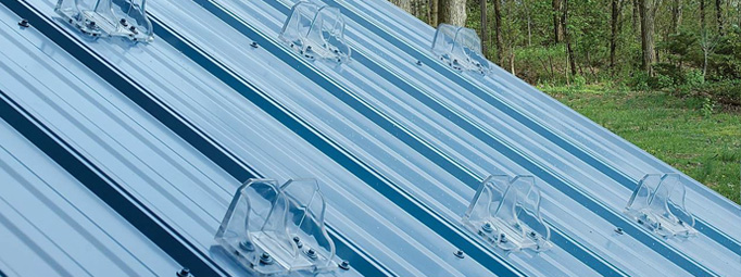 Perfect System Of Snow Guards For Metal Roofs Creative Home