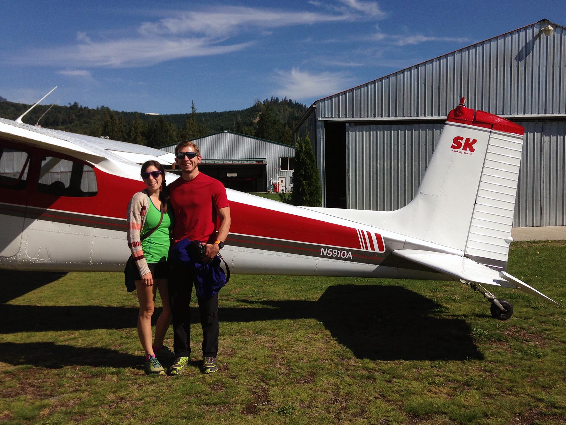 Range of Glaciers Scenic Flight over the North Cascades: Snowking Aviation