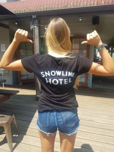 Snowline womens t rear