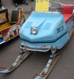 vintage snowmobile [ 849 x 1000 Pixel ]