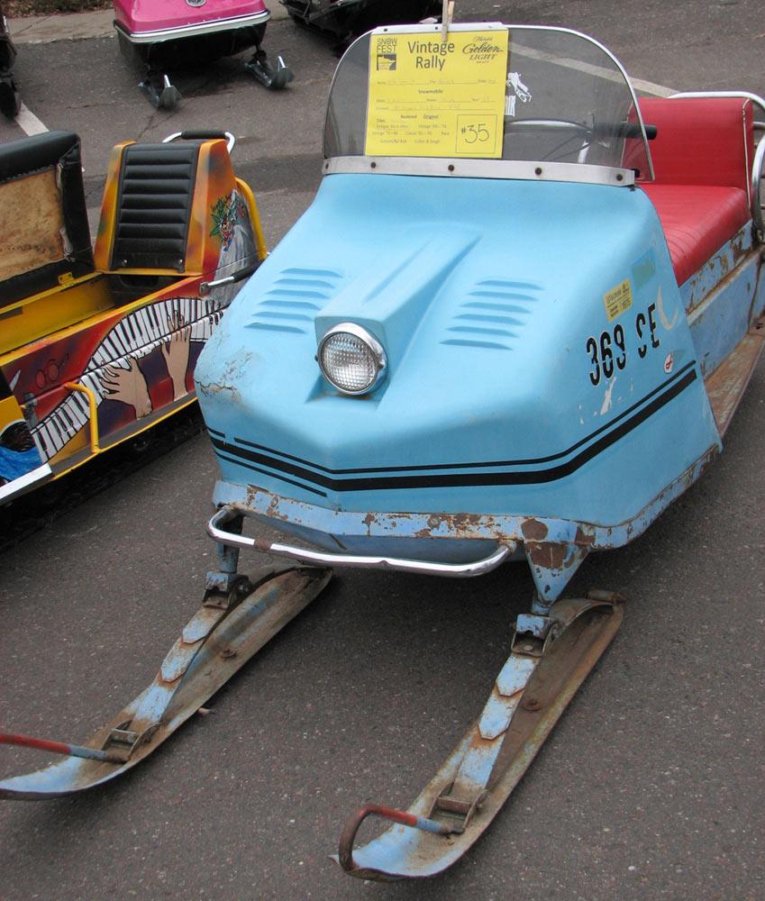 medium resolution of vintage snowmobile