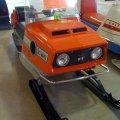Ski whiz vintage snowmobile