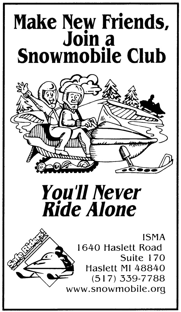 Snowmobile posters and line art, ISMA (International