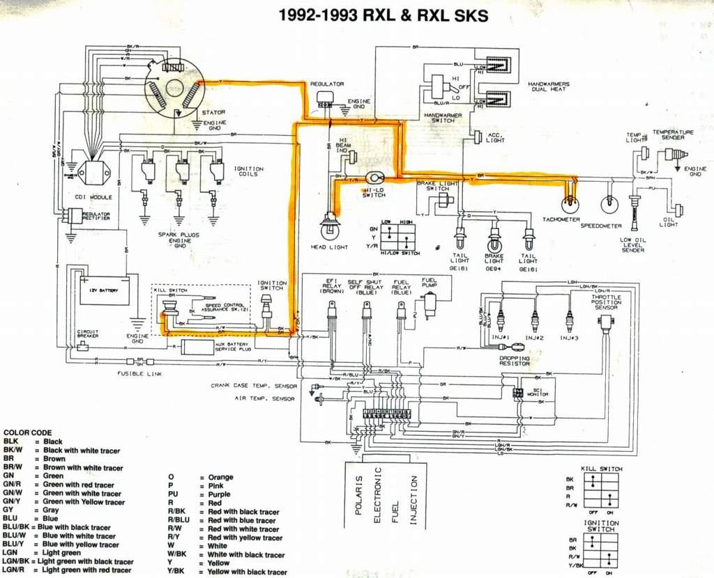 Polaris Snowmobile Wiring Diagram Polaris Snowmobile Parts Diagram