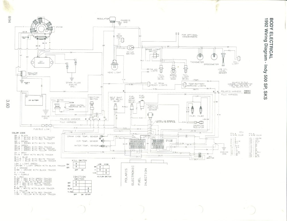 medium resolution of wiring diagram for 1991 polaris rxl wiring diagrams sapp 1994 polaris indy rxl 650 wiring diagram polaris 650 wiring diagram