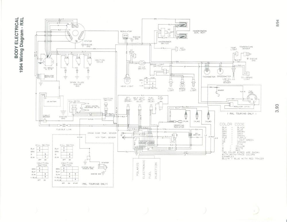 medium resolution of wiring diagram for 1991 polaris rxl wiring diagram long polaris indy rxl 650 wiring diagram polaris 650 wiring diagram