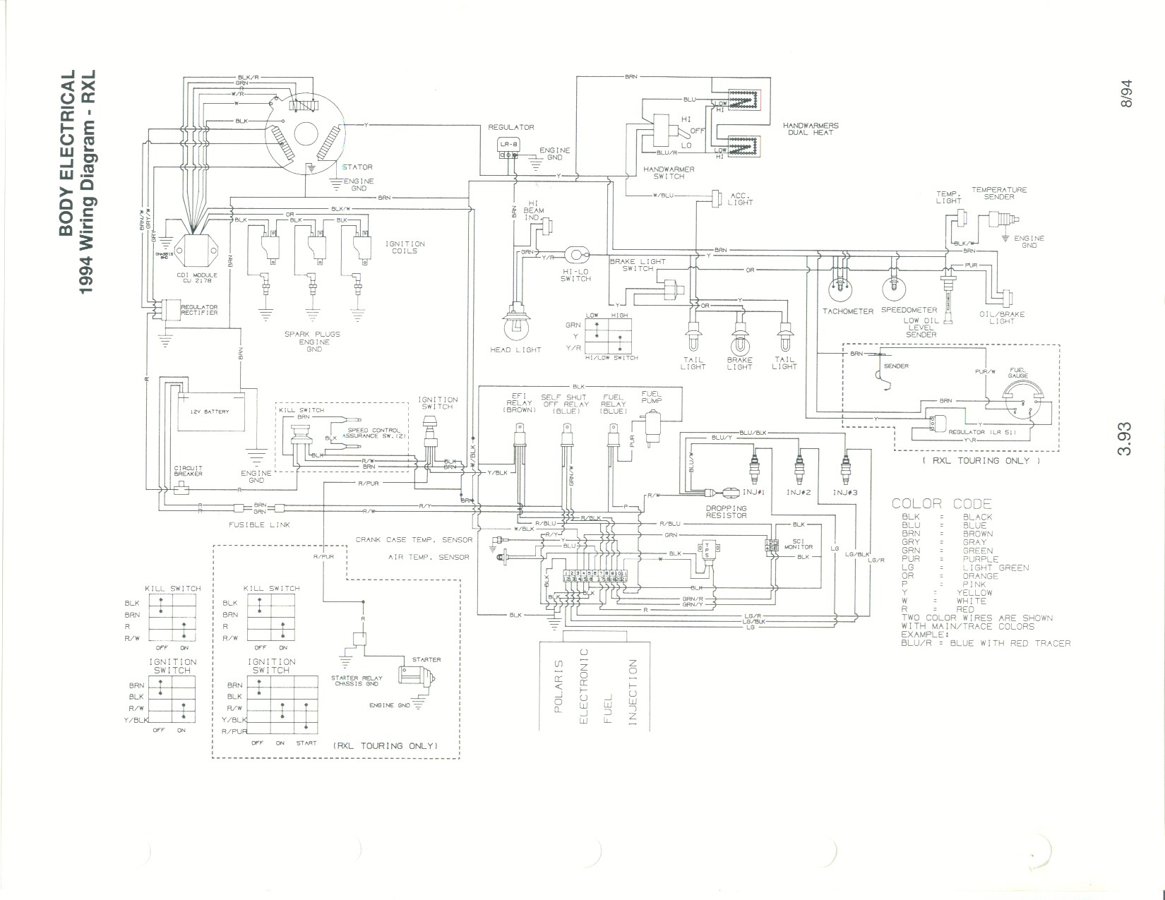 hight resolution of 1991 polaris wiring diagram wiring diagram 1991 polaris wiring diagram