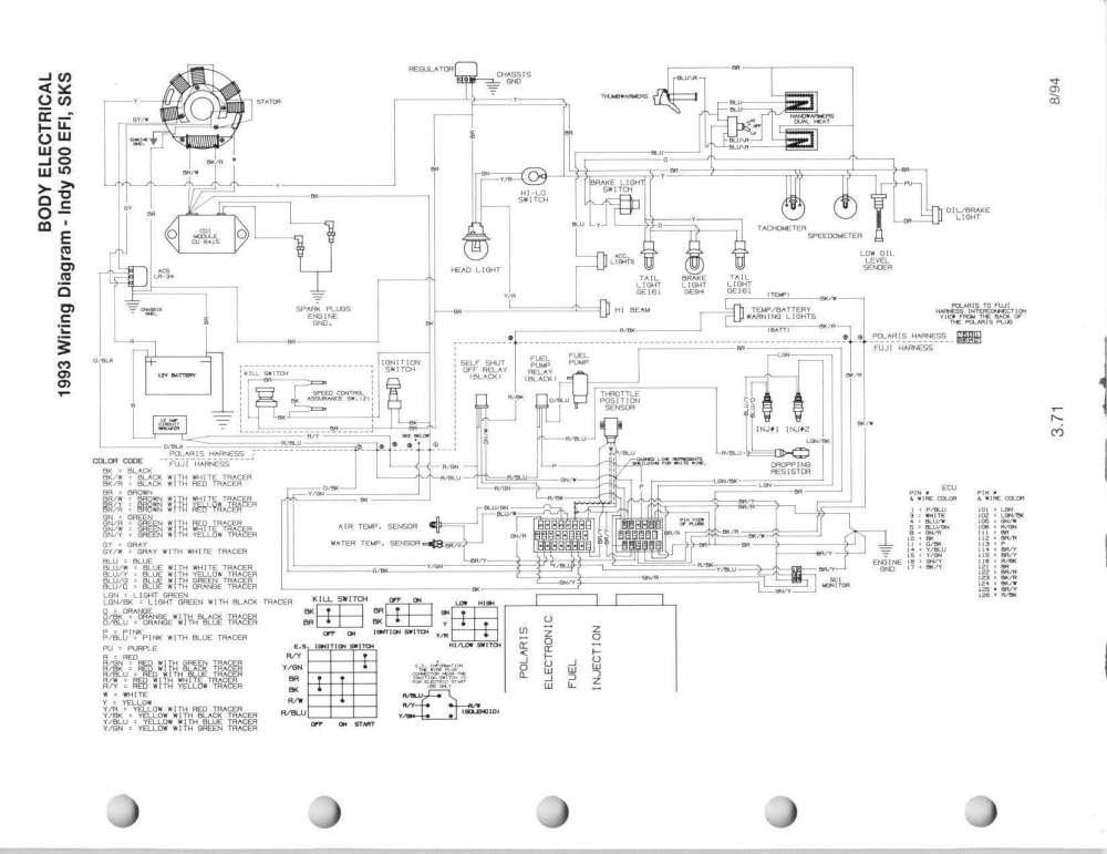 medium resolution of polaris indy 500 wiring diagram