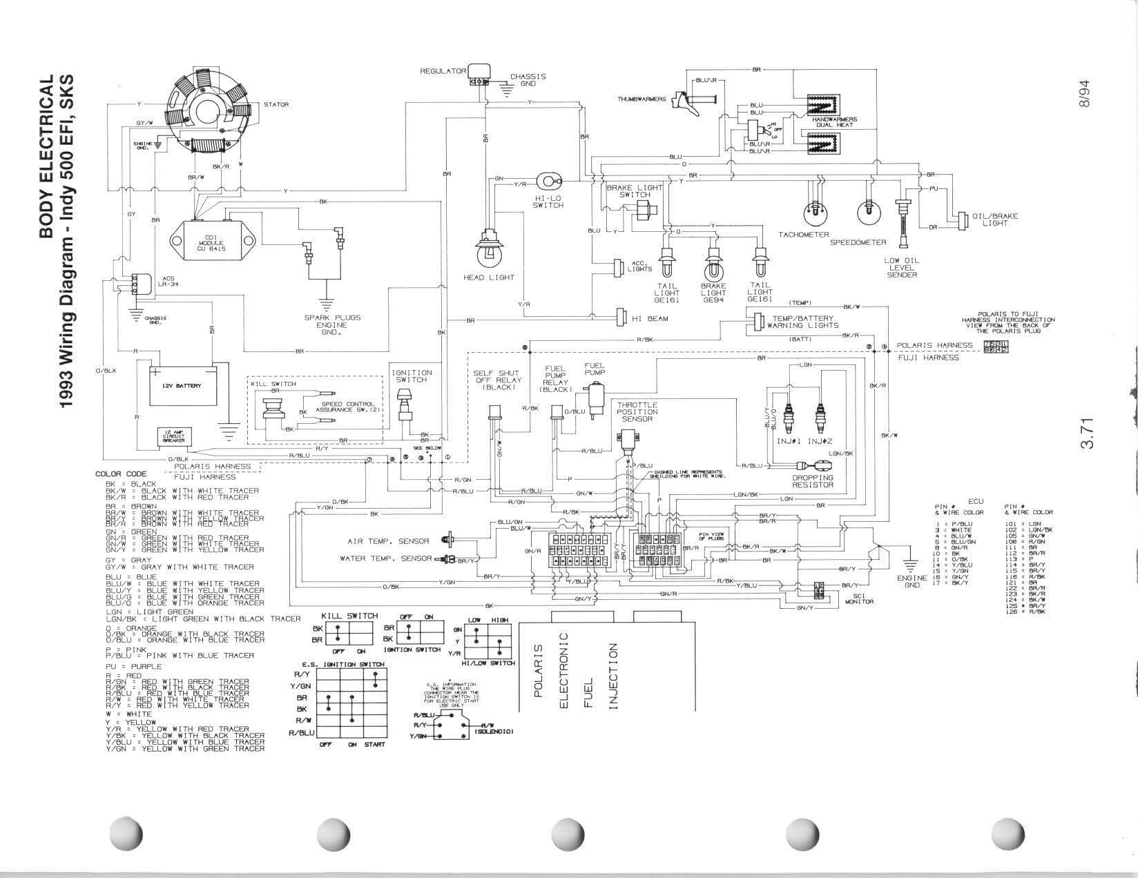 hight resolution of polaris indy 500 wiring diagram