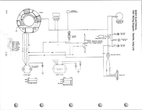 small resolution of polaris electrical diagram wiring diagram page wiring diagram for polaris trailblazer 250 polaris electrical schematics wiring