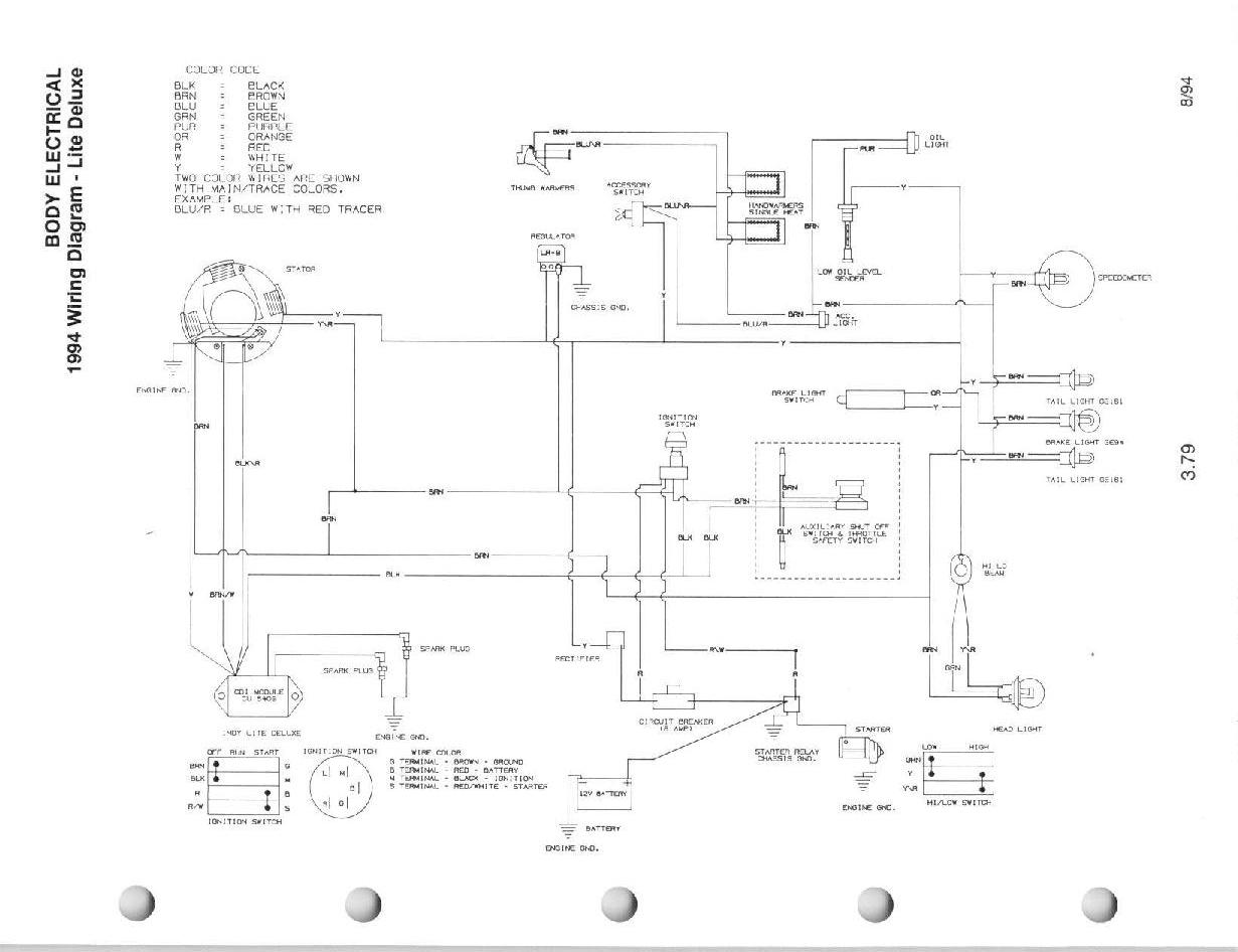 1995 polaris efi wiring diagram